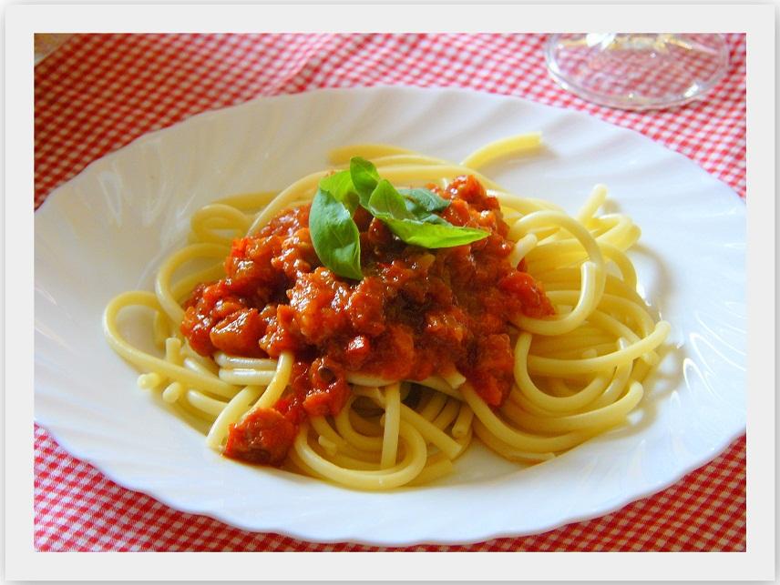 Bucatini z boczkiem przepis marty - Cucinare a casa ...