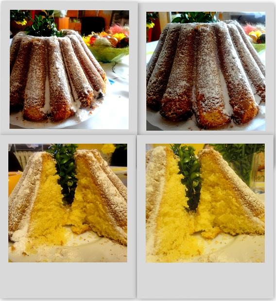 Babka piaskowa - ciasto na wielkanoc