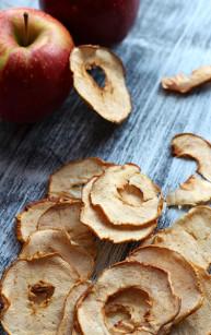 Chipsy jabłkowe, czyli suszone jabłka