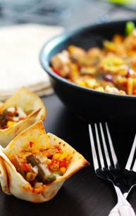 Muffinkowe tortille