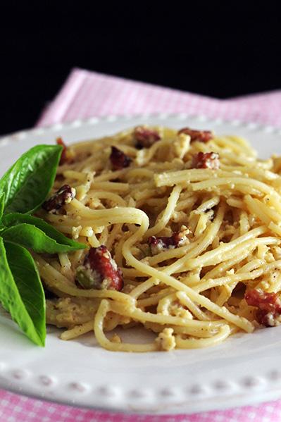 Klasyczne spaghetti carbonara