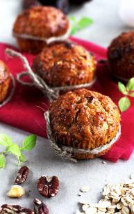 Dyniowe muffinki – samo zdrowie