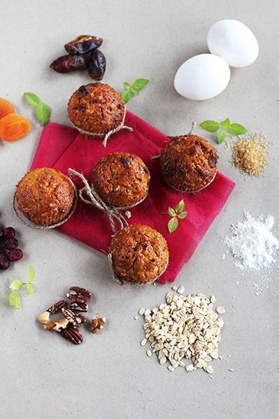 Muffinki dyniowe