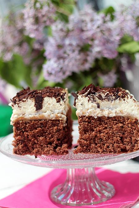 Kostka alpejska ciasto