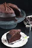 Ciasto czekoladowo-migdałowe
