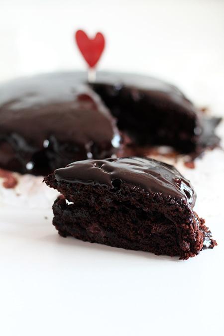 Ciasto czekoladowe bez nabiału