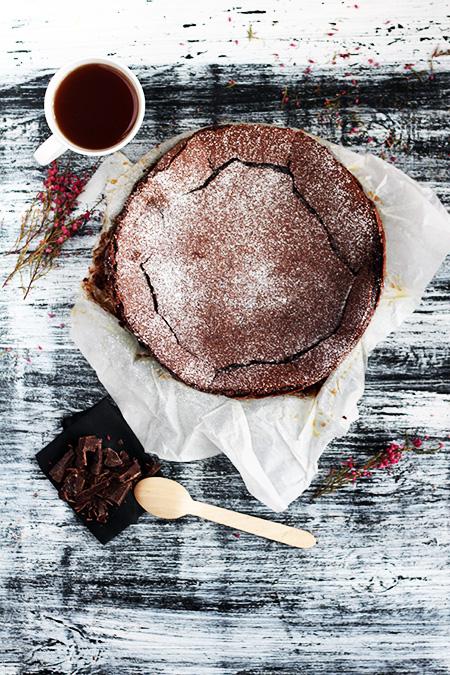 Kladdkaka ciasto czekoladowe
