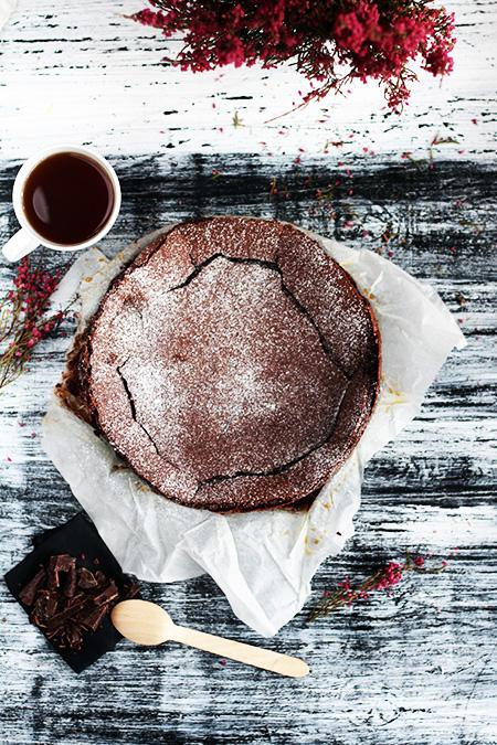 Kladdkaka szwdzkie ciasto czekoladowe