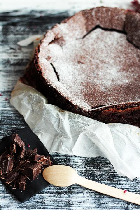 Kladdkaka szwedzkie ciasto