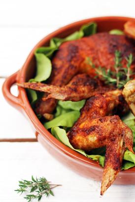 Pieczony kurczak z piekarnika