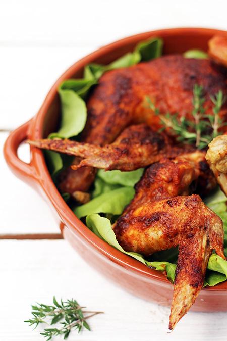 Pieczony Kurczak Zagrodowy Przepis Marty