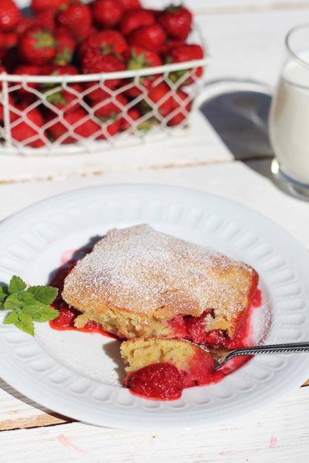 Pudding truskawkowy