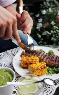 Meksykański stek z grilla