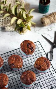 Muffinki dyniowo jabłkowe