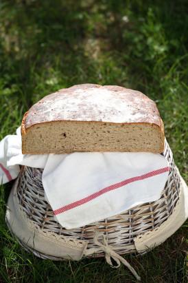 Chleb ulubiony na zakwasie