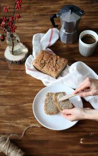 Chleb z owsianką na zakwasie