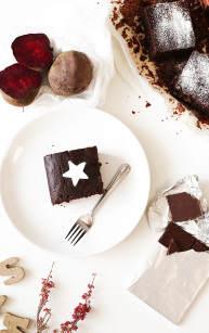 Czekoladowe ciasto z buraków
