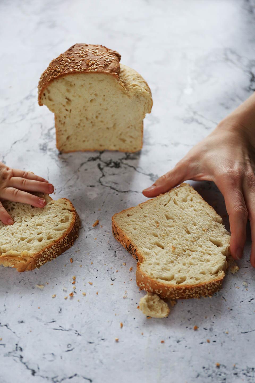Szybki pszenny chleb na kefirze