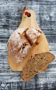 Żytni chleb sodowy