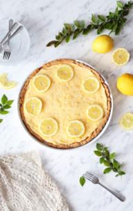 Tarta sernikowa z lemon curd