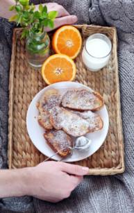 Francuskie tosty cynamonowe