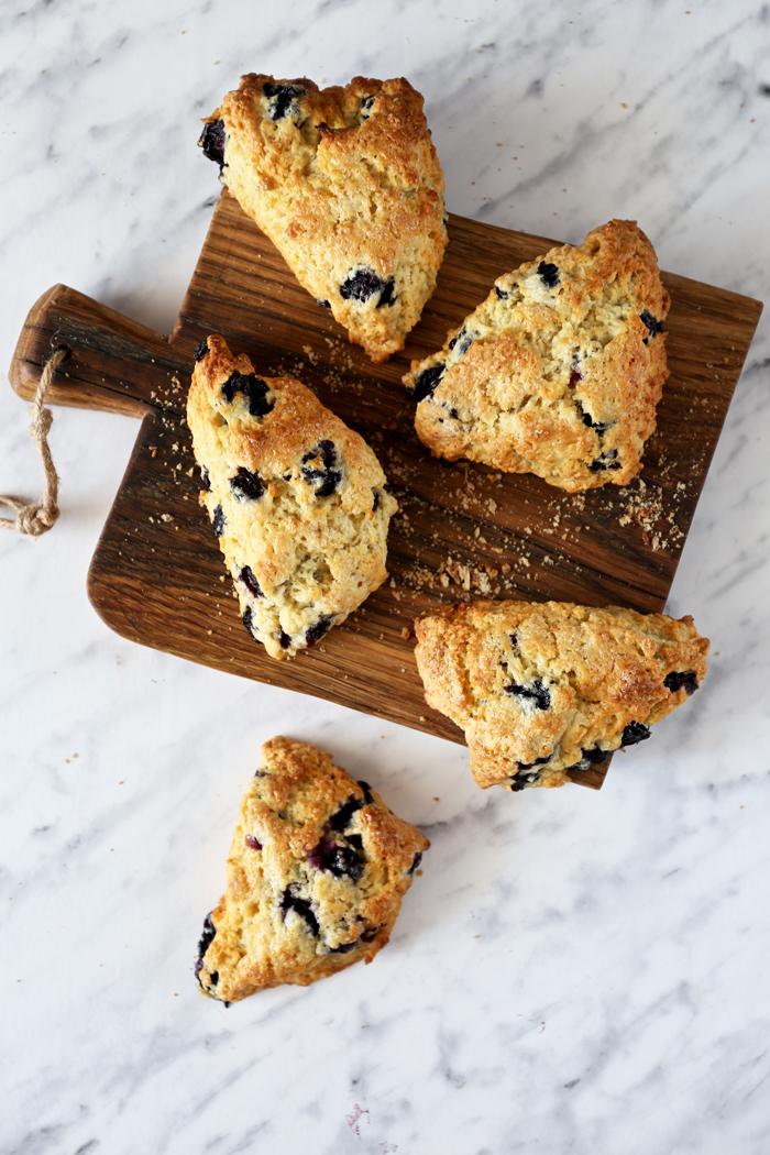 blueberries-scones