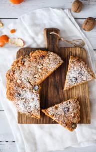 Ciasto marchewkowe (z patelni, bez piekarnika)