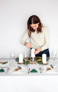 Jak udekorować stół na Święta + konkurs z Ambition