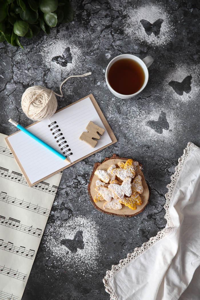 Przepis na kruche ciasteczka dyniowe
