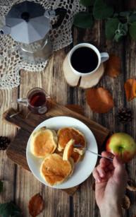 Pancakes z imbirowym syropem miodowym i recenzja ABC gotowania 2