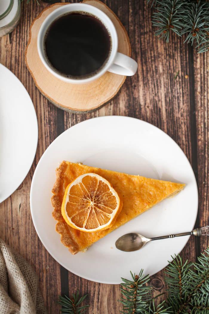 Pomarańczowa tarta przepis