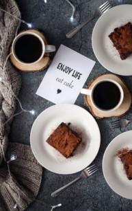 Brownies podwójnie czekoladowe