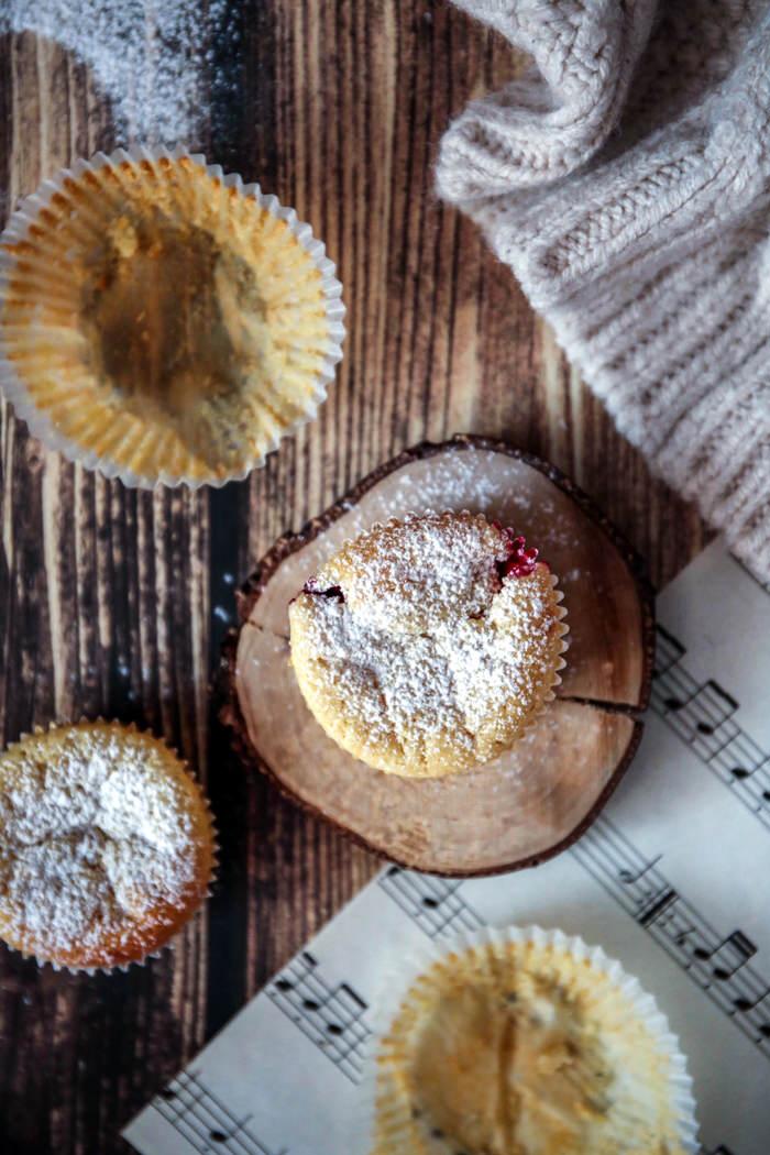 Muffiny z mascarpone przepis