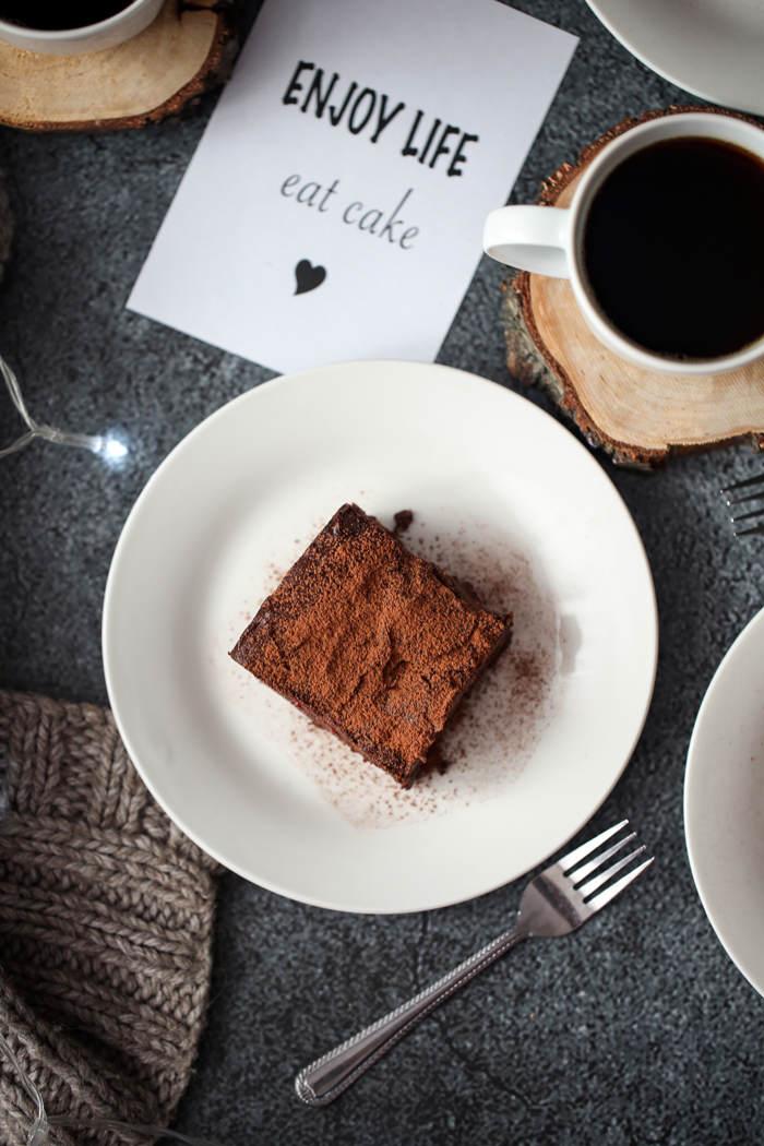 Podwójnie czekoladowe brownies