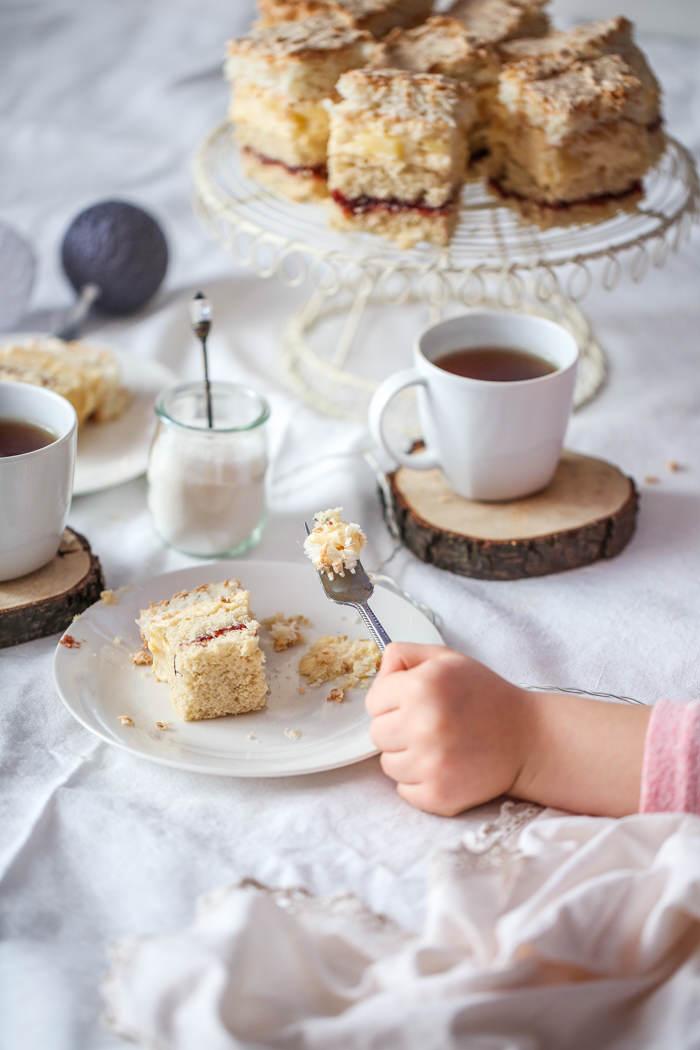 przepis na ciasto z kremem