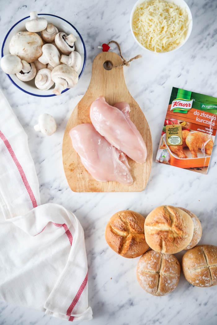 kurczak z pieczarkami przepis
