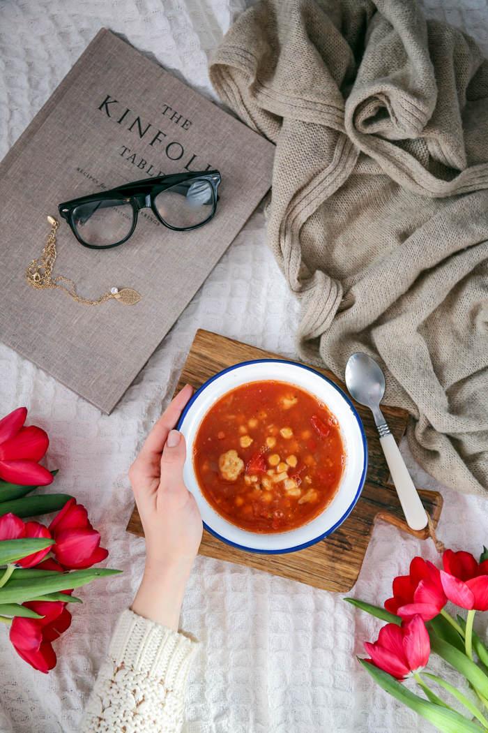 indyjska zupa z ciecierzycą przepis