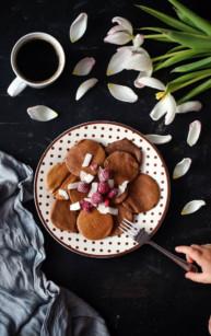 Kakaowe placuszki (bez glutenu)