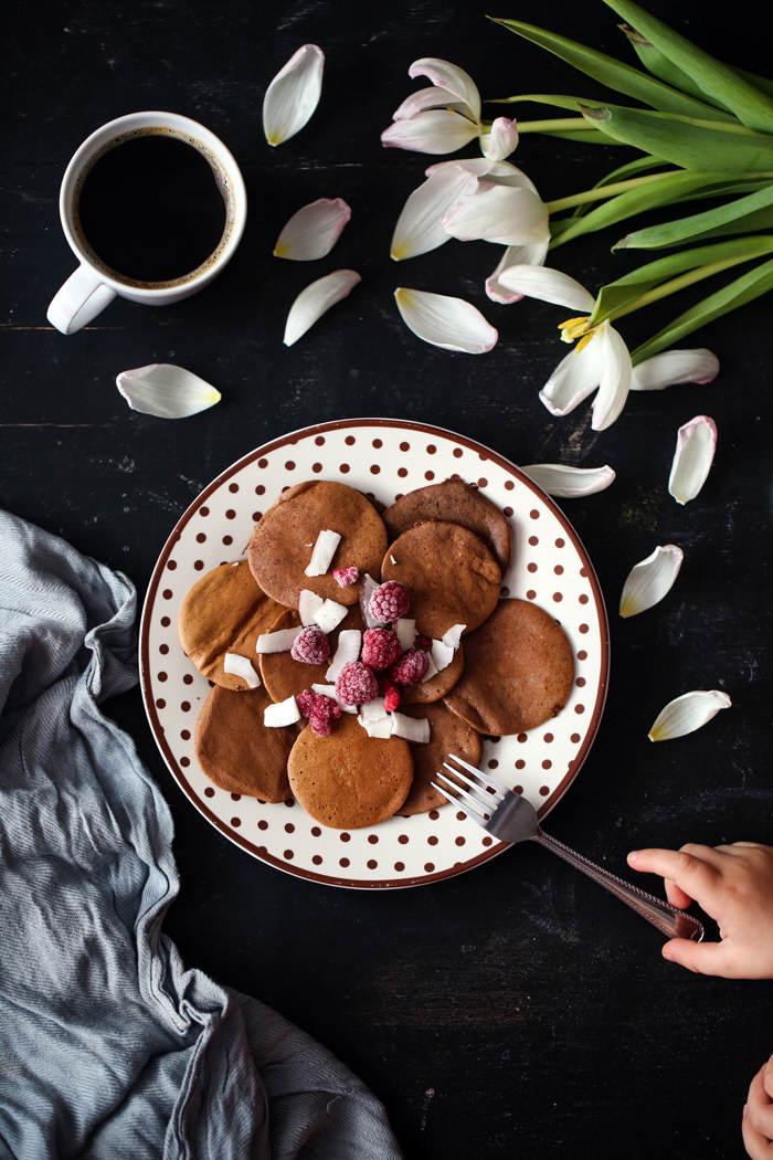 Kakaowe placuszki przepis