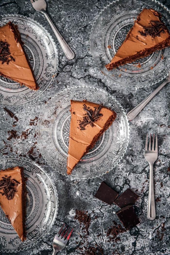 tarta z czekoladowym musem przepis
