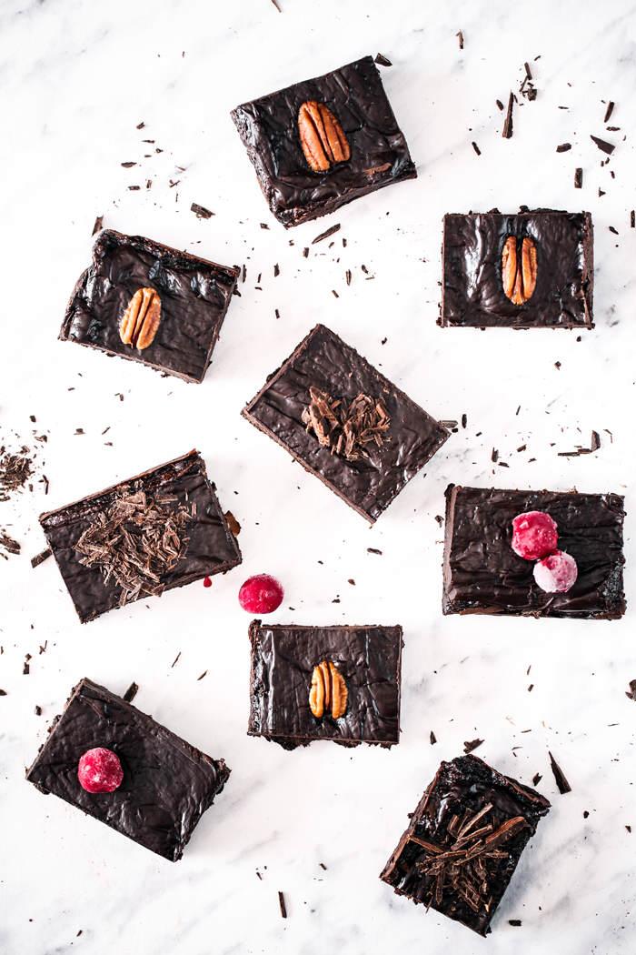 awokado brownie przepis