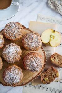 babeczki z jabłkami przepis