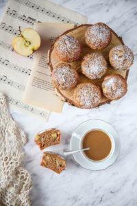 muffinki z jabłkami przepis