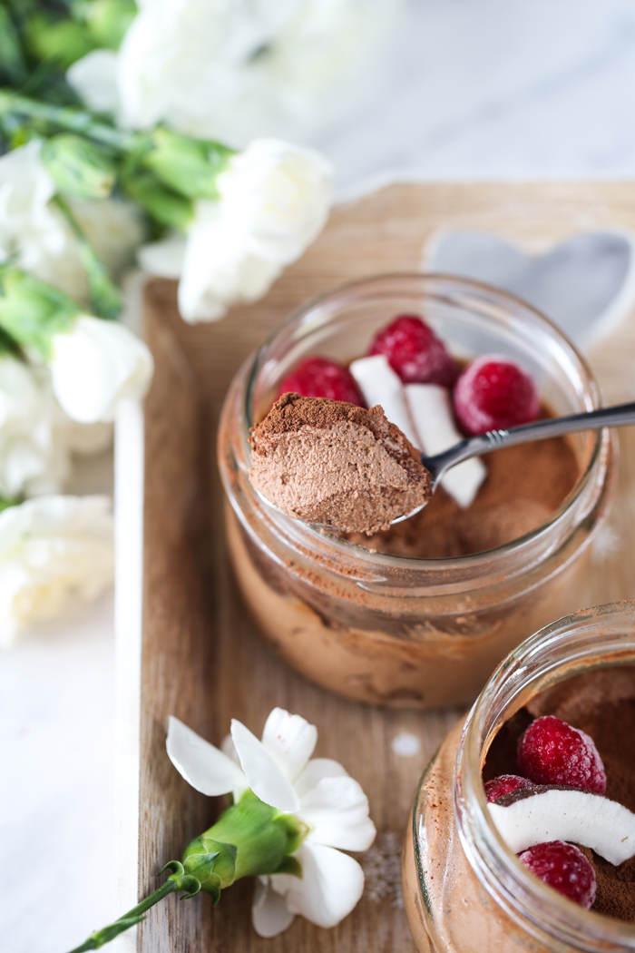 wegański mus czekoladowy przepis