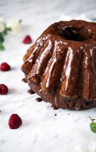Babka czekoladowa (wilgotna)