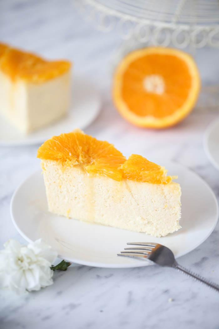 pomarańczowy sernik przepis