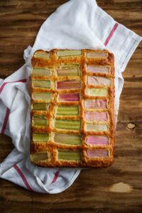 ciasto z rabarbarem przepis