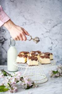 sernik z czekoladową kruszonką przepis