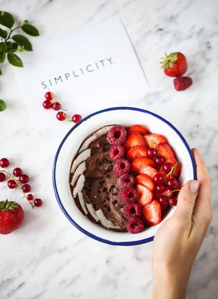 czekoladowy pudding jaglany przepis