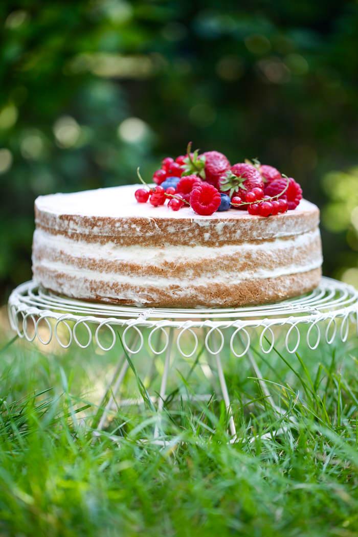naked cake przepis